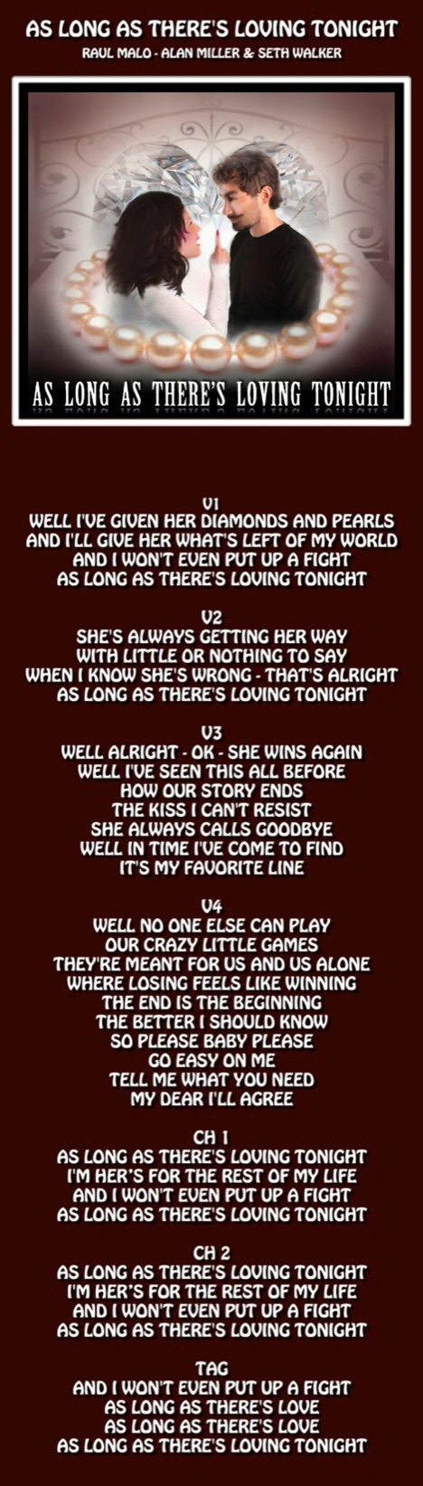 Miller's Tale songs' lyrics to read while you listen to the